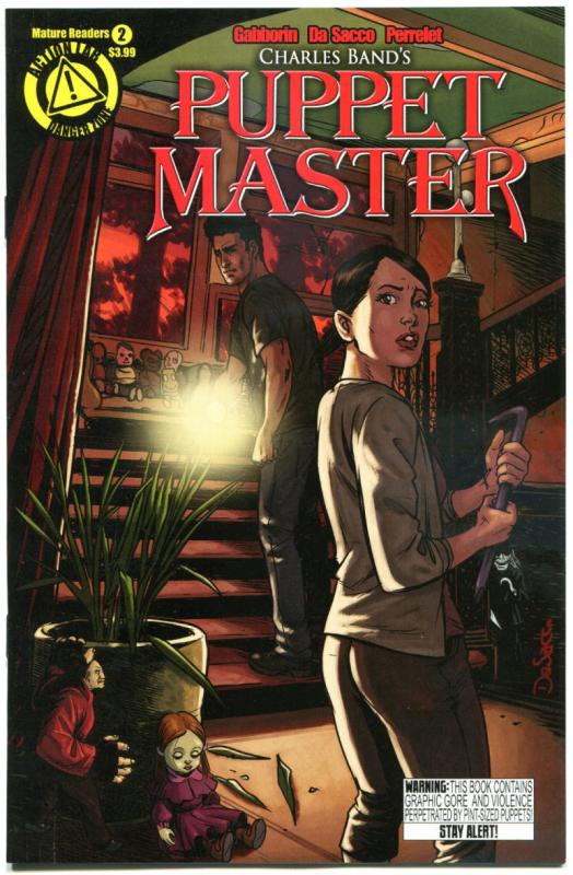 PUPPET MASTER #2, NM, Bloody Mess, 2015, Dolls, Killers, more HORROR  in store,A