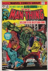 Man-Thing #19 (Aug-75) VF/NM High-Grade Man-Thing