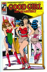 Good Girl Art Quarterly #12 Betty Page cover-GGA-comic book