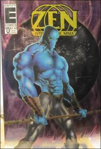 Entity ZEN INTERGALACTIC NINJA (1993 Series) #0 VF/NM