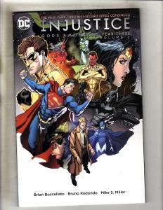 Injustice Gods Among Us Year THREE Vol 2 DC Comics TPB Graphic Novel Comic J340