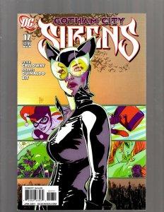 Gotham City Sirens # 17 NM 1st Print DC Comic Book Harley Quinn Poison Ivy SM19