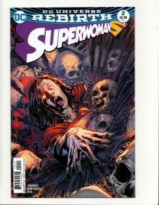Superwoman #2 Rebirth Main Cvr (DC, 2016) NM
