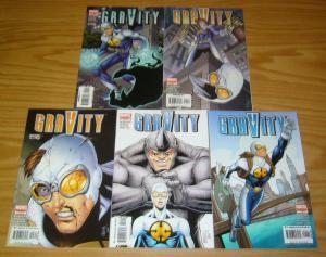 Gravity #1-5 VF/NM complete series - marvel comics - sean mckeever set lot 2 3 4