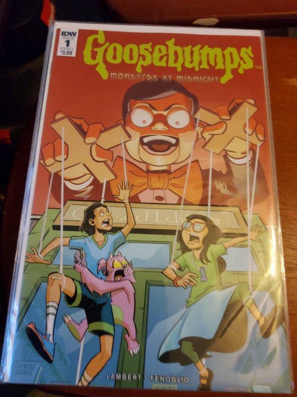 Goosebumps: Monsters At Midnight #1 (2017)