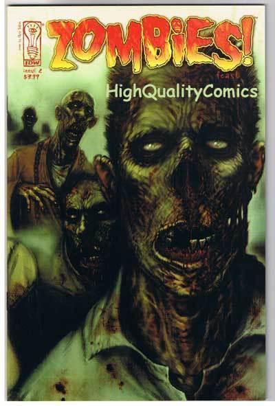 ZOMBIES FEAST #2, NM+, Horror, IDW, Walking Dead, 2006, more Zombies in store