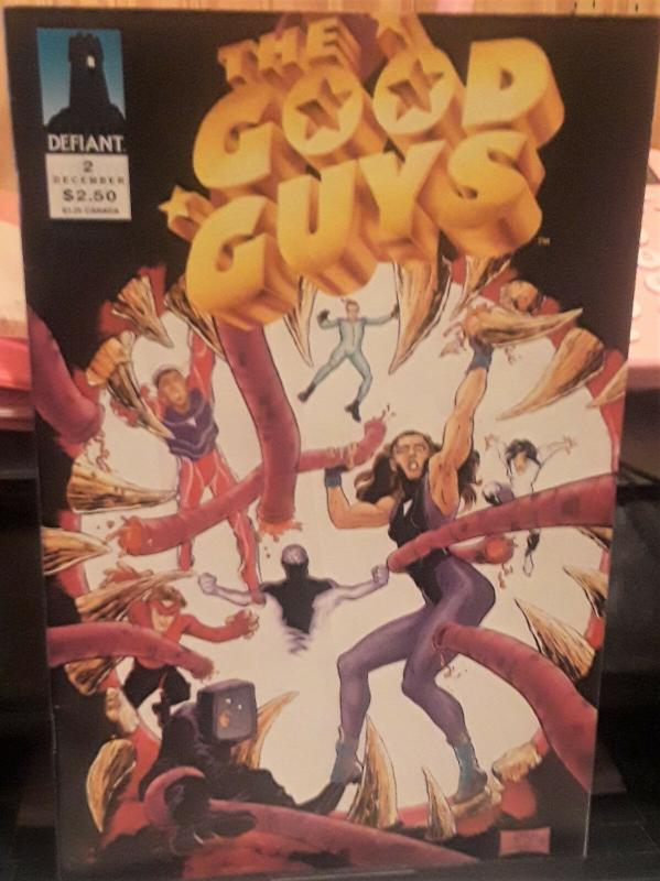 DEFIANT COMICS-GOOD GUYS-ISSUE #2-DATE:Dec 1993-PAGES:36-GREAT COMICBOOK
