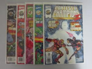 Contest of Champions II (1999) #1-5 Set - VF - 1999