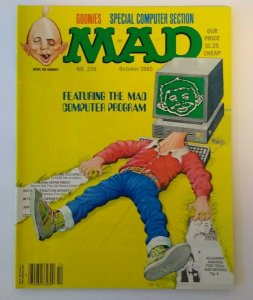 MAD Magazine Oct 1985 # 258 Goonies Movie Spoof And Cyndi Lauper Song Parody