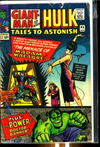 Tales to Astonish #66