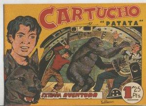 Cartucho y Patata, facsimil numero 08: Extraña aventura