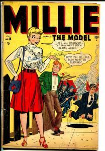 Millie The Model-#14 1948-Marvel-Good Girl Art-fire fighters-Chili-Kurtzman-VG-