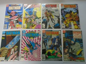 Batman comic lot 27 different from #401-449 avg 6.0 FN (1986-90)