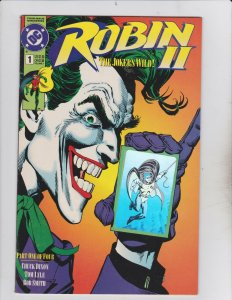 DC Comics! Robin II: The Joker's Wild! Issue 1-4! Full Set!