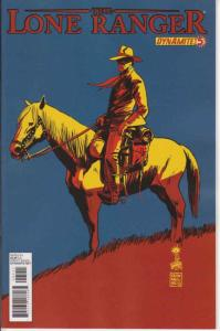 Lone Ranger, The (Dynamite, 2nd Series) #5 VF/NM; Dynamite | save on shipping -