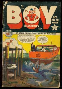 BOY COMICS #70 1951-CRIMEBUSTERS-LEV GLEASON-BIRO VG