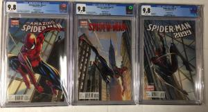 Amazing Spider-man 1 Superior 31 2099 1 Variant Connecting Cover Set Cgc 9.8 WP