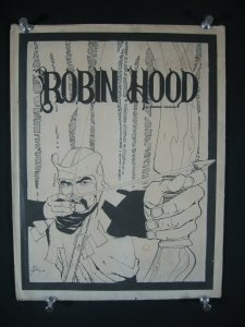 HOWARD CHAYKIN PORTFOLIO: ROBIN HOOD-SIGN-WOW!