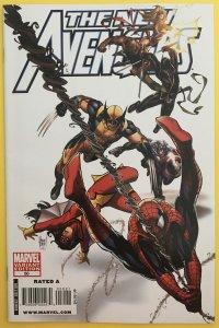NEW AVENGERS 50 KUBERT VARIANT COVER MARVEL 2009