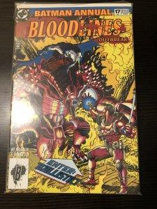 Batman Annual 17 Dc Comics 1991 VF