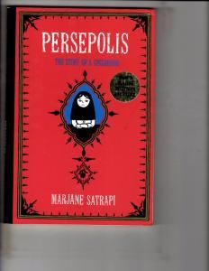 Persepolis The Story Of A Childhood Marjane Satrapi Graphic Novel Comic J163