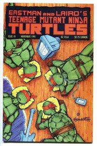TEENAGE MUTANT NINJA TURTLES #41-1991 NM-
