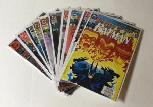 Detective Comics 661 663-666 668 670 Batman 465 468 Annual 13 All Nm