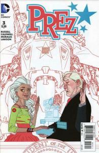 Prez (2nd Series) #3 VF/NM; DC | save on shipping - details inside