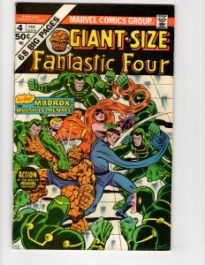 Giant-Size Fantastic Four #4 (VF+) ID#46P