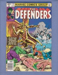 Defenders #79 FN Marvel 1980