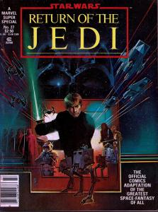 Marvel Super Special #27 RETURN OF THE JEDI - 8.0 or Better -  Looks Nice!