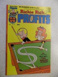 RICHIE RICH PROFITS # 12HARVEY CARTOON ADVENTURE FUNNY