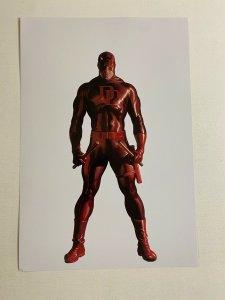 Daredevil Marvel Comics poster by Alex Ross