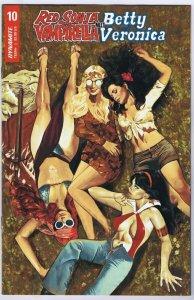 Red Sonja And Vampirella Meet Betty And Veronica #10 Dynamite GGA Bikini Cover