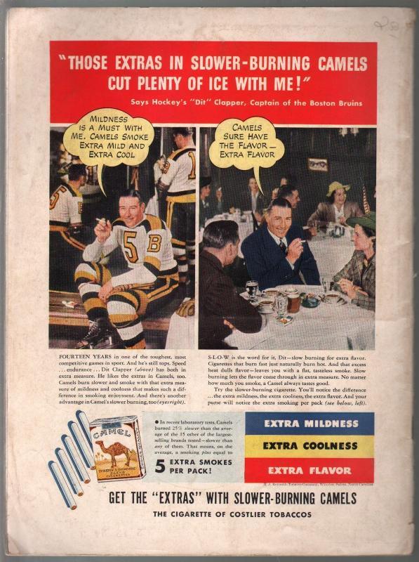 Ski #1 1/1941-1st issue-National Magazine of Winter Sports-pix-VG