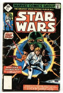 Star Wars #1 1977 2nd print Marvel Key Issue bronze-age--comic book