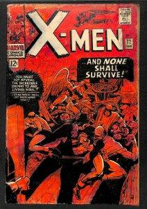 X-Men #17 FA/GD 1.5 Marvel Comics