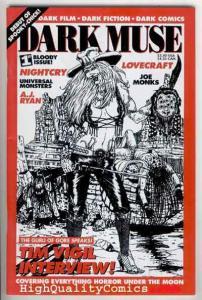 DARK MUSE #1, VF+, Lovecraft, Tim Vigil interview, Horror, Gore, 1995