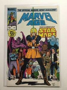 Marvel Age 10 Near Mint Nm Marvel