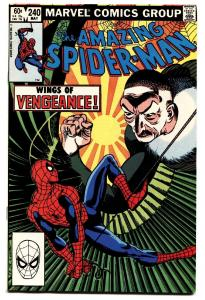 AMAZING SPIDER-MAN #240-comic book-1983-MARVEL The Vulture