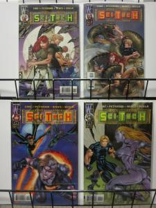 SCI-TECH (1999 WILDSTORM) 1-4  complete series!