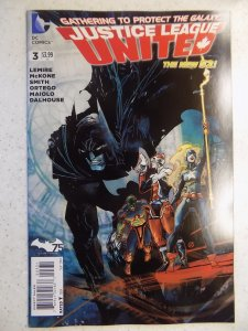 JUSTICE LEAGUE UNITED NEW 52 # 3