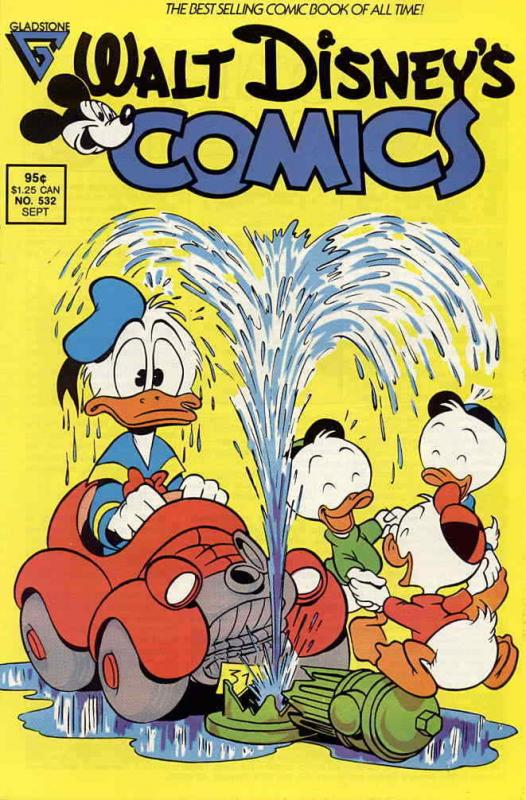 Walt Disney's Comics and Stories #532 VF/NM; Dell | save on shipping - details i