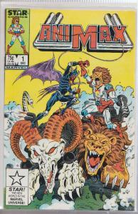 ANIMAX #1 - STAR COMICS / MARVEL - 1986