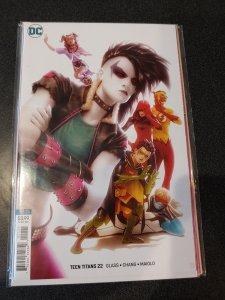 Teen Titans #22 Virgin Variant DC Comics 1st Print