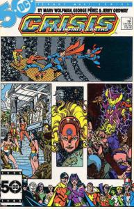Crisis on Infinite Earths #11 VF/NM; DC | save on shipping - details inside