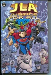 JLA: Justice For All-Grant Morrison-1999-PB-VG/FN