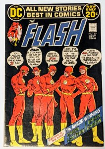 The Flash #217 (Sept 1972, DC) FN+ 6.5 Green Lantern/Green Arrow backup story
