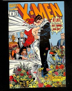 X-Men (1991) #30 Wedding of Scott Summers and Jean Grey!