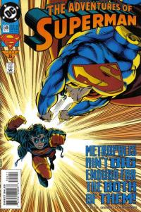 Adventures of Superman (1987 series) #506, NM (Stock photo)